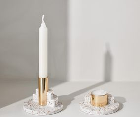 Puik Ply candle